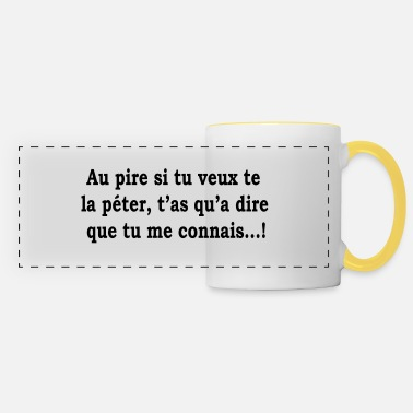Humorous humor - Panoramic Mug