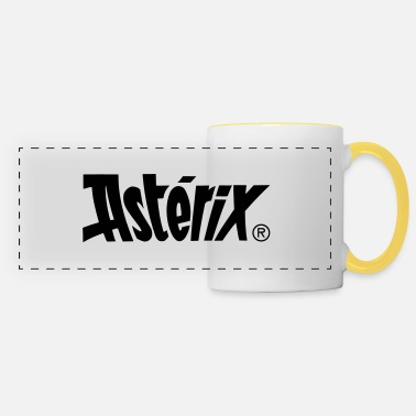 Asterix And Obelix Asterix & Obelix - Asterix Logo - Panoramic Mug
