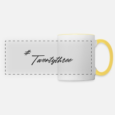 Twentythree twentythree - Birthday - 23 Birthday - Gift - Panoramic Mug