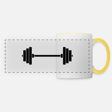 Weights weights - Panoramic Mug
