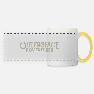 Outerspace Outerspace Adventurer astronaut - Panoramic Mug