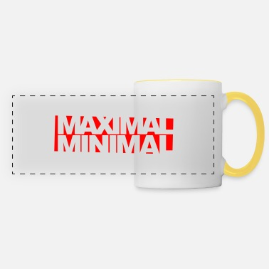 Minimum Maximum minimum Invert - Panoramic Mug