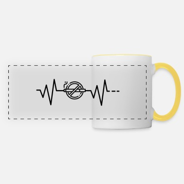 Smoking Heartbeat No Smoking, No Smoking, No Smoking - Panoramic Mug