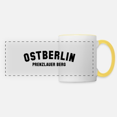Ostberlin PRENZLAUER BERG - Panoramic Mug