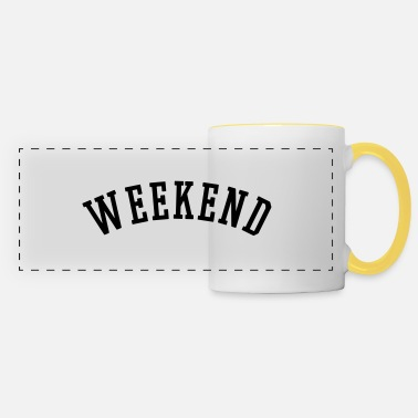 Weekend WEEKEND - Mug panoramique