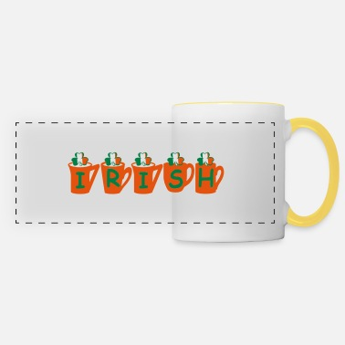 Uk Underwear ♥ټ☘Drink the Irish Shamrock Tea for Luck☘ټ♥ - Panoramic Mug