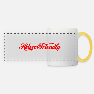 Marriage hetero friendly - Panoramic Mug