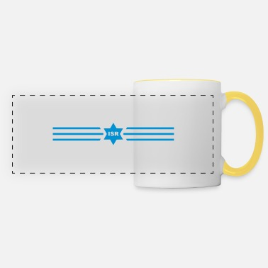 Zion Retro Sporty Zion Israel stretched - Panoramic Mug