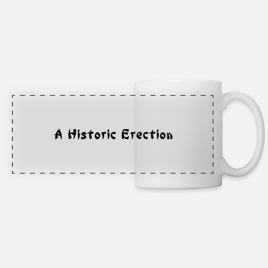 Word Comedy Party a historic erection - Panoramic Mug