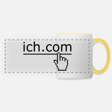 Lol ich komm - Panoramic Mug