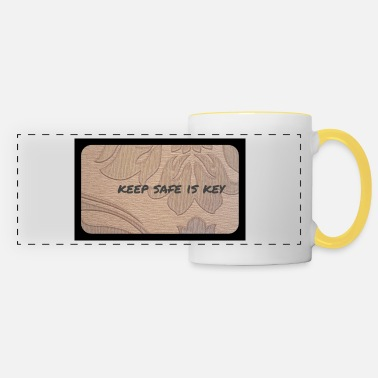 We Are The 99 Percent keep safe is key - Panoramic Mug