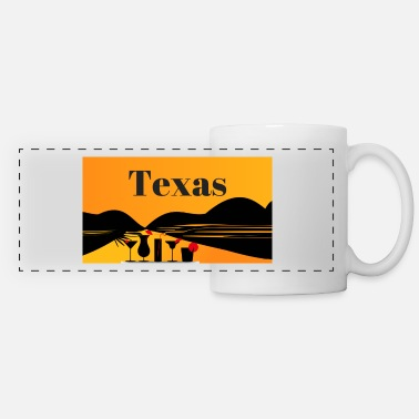 Texas Texas - Panoramic Mug