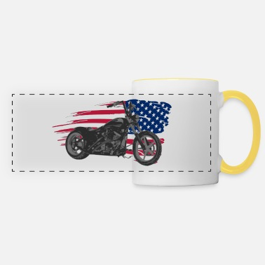 Custom custom usa - Mug panoramique