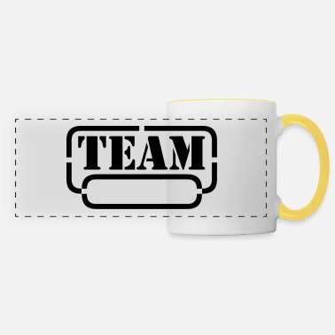 Friends name your team - Panoramic Mug