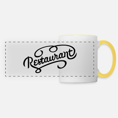 Restaurant restaurant - Panoramic Mug