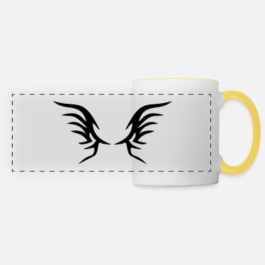 Fly Tattoo wings - Panoramic Mug