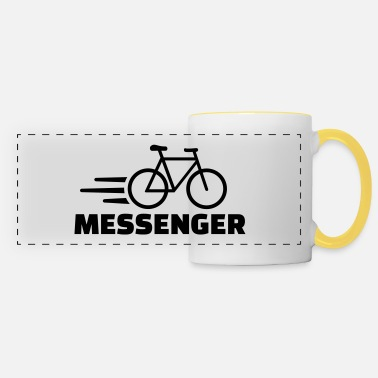 Messenger Bike messenger - Panoramic Mug