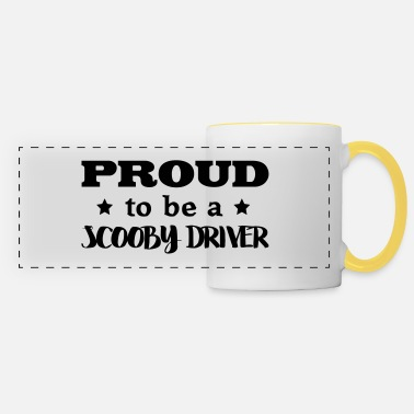 Scooby scooby driver proud to be - Panoramic Mug