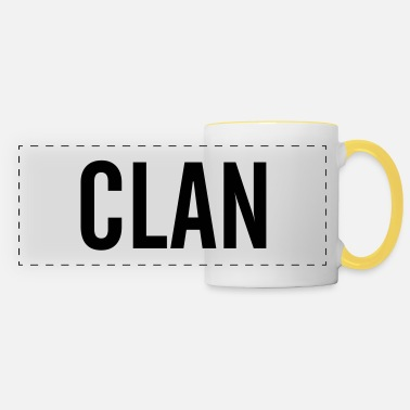 Clan clan - Panoramic Mug