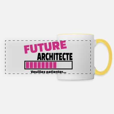 Architecte future architecte - Mug panoramique