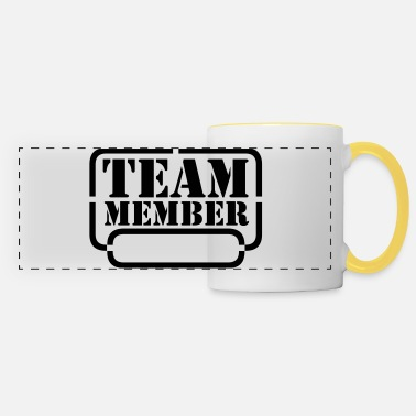 Provocazione name your team member - Tazza panoramica