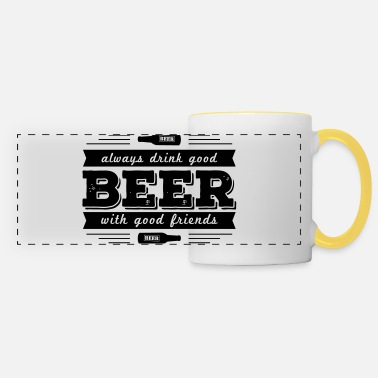 Memes always drink good beer - Panoramic Mug