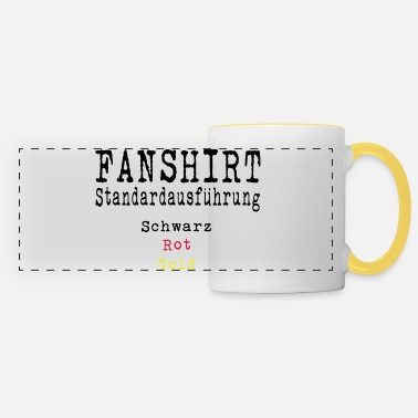 Schland Football Fan Shirt Germany Schland EM - Panoramic Mug