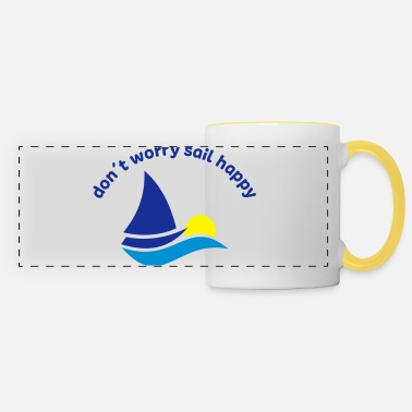 Sailing sailing - Panoramic Mug