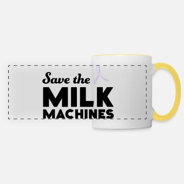 Save the Milk Machines - Panoramic Mug