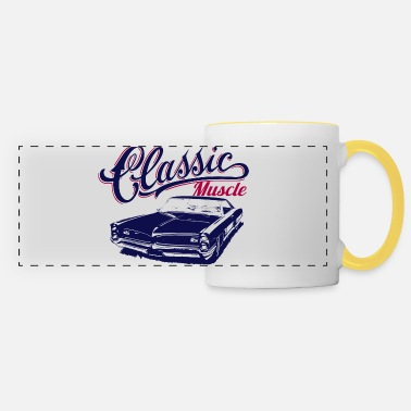 Car muscle car - Panoramic Mug