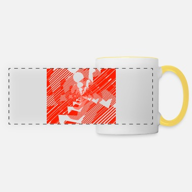 Running Run, run, run - Panoramic Mug