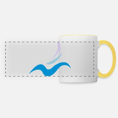 Sailboat sailboat - Panoramic Mug