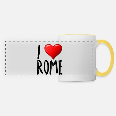Rome I love Rome - Panoramic Mug