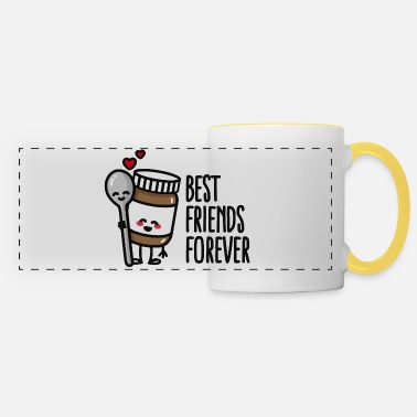 Bff Best friends forever chocolate spread / spoon BFF - Panoramamugg