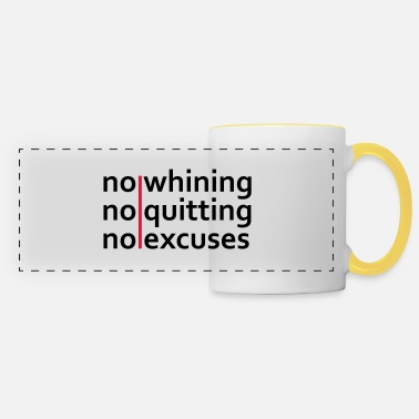 Fitness No Whining | No Quitting | No Excuses - Panoramakrus