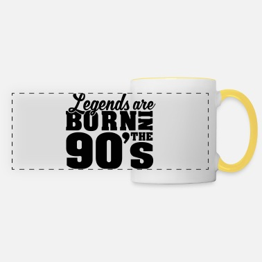 Legends are born in the 90´s - Panoramatasse
