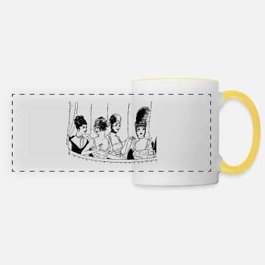 Girlfriend girlfriends - Panoramic Mug