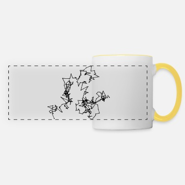 Motion Brownian Motion - Panoramic Mug