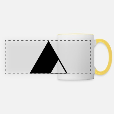 Triangle Triangle in the triangle - Panoramic Mug