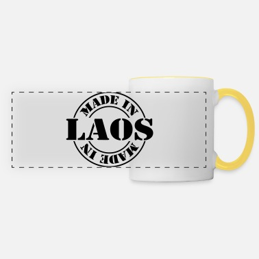 Pays made in laos m1k2 - Mug panoramique