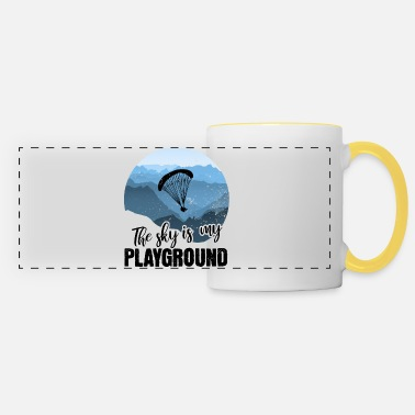The sky is my playground - Panoramic Mug