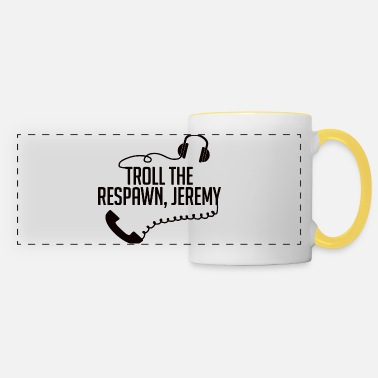 Troll troll - Panoramic Mug