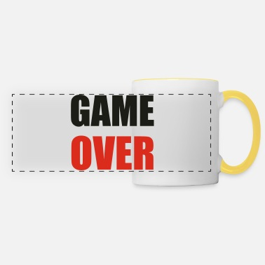 Game Over game over - Tazza panoramica