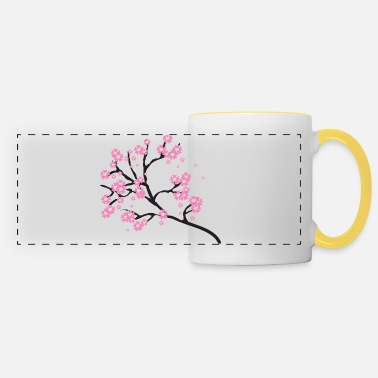 Cherry Blossom Cherry blossoms - Panoramic Mug