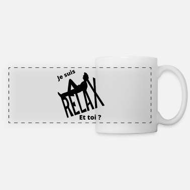 Relax Relax Relax - Mug panoramique