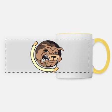 Wouf Wouf bouledogue - Mug panoramique