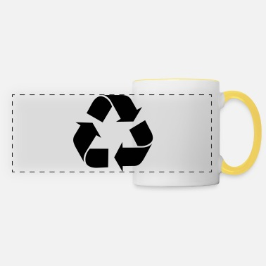Recycling Recycle recycling - Panoramic Mug