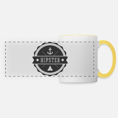Hipster hipster hipster - Taza panorámica