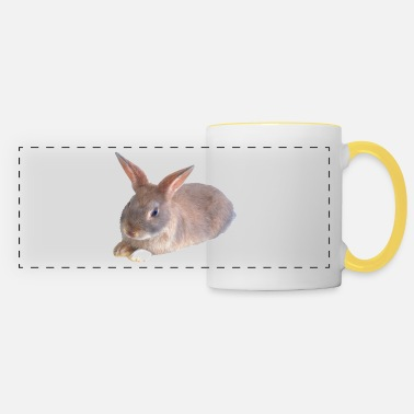 Rabbit Teeth Rabbit - Panoramic Mug