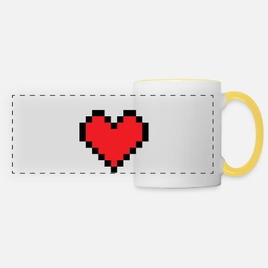 Coeur De Pixel Mug Thermos Blanc
